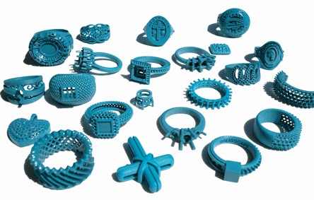 Impresión de Joyas en 3D