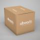Caja cartón microcanal
