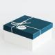 Caja de cartón compacto forrado