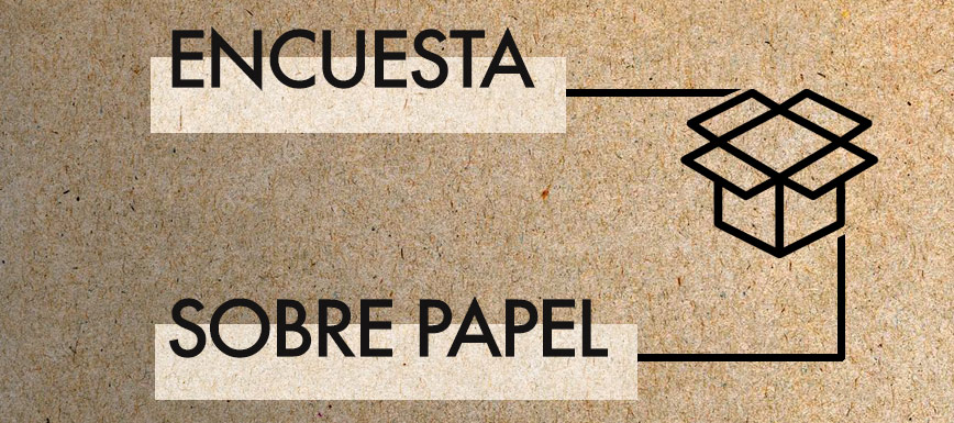 Encuesta sobre el uso del papel