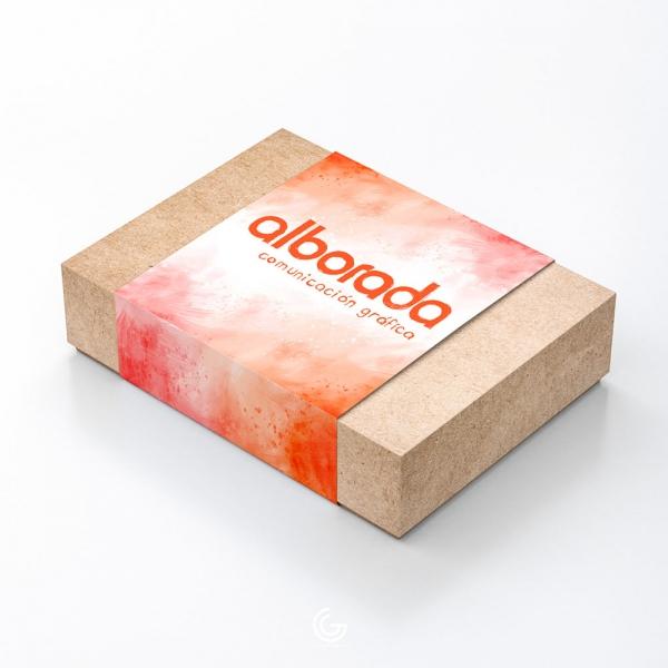 Fajas decorativas impresas para packaging