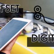 ¿Impresión digital o impresión offset?