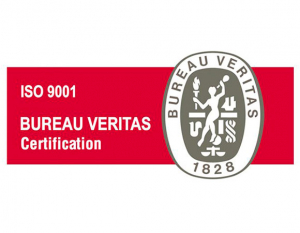 Sello de calidad ISO 9001