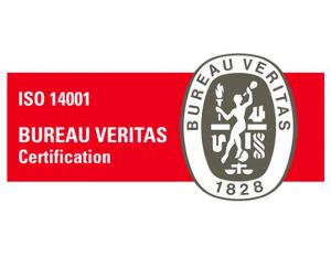 Sello de calidad ISO 14001