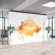 Vinilo de pared interior para decoración y publicidad