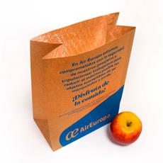 Pack alimenticio para vuelos AirEuropa