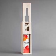 Estuche de madera para vino