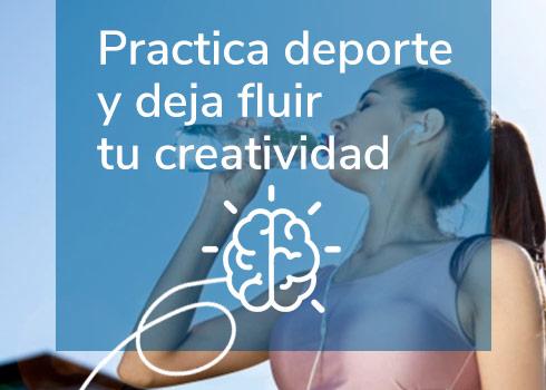 Practica deporte y deja fluir tu creatividad